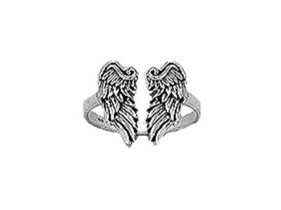 Anillo Gotic Wings