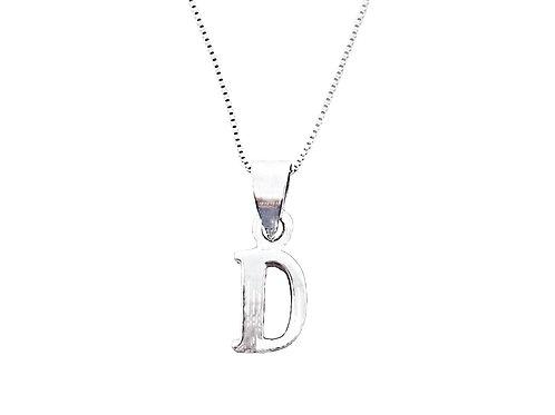 Collar Letra D