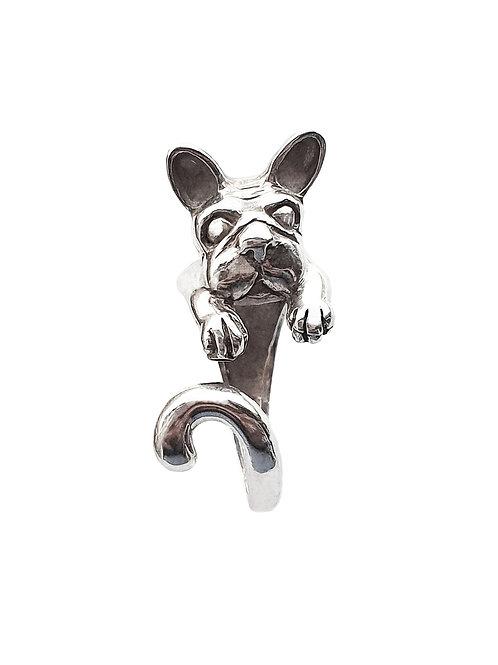 Anillo Bulldog Francés.