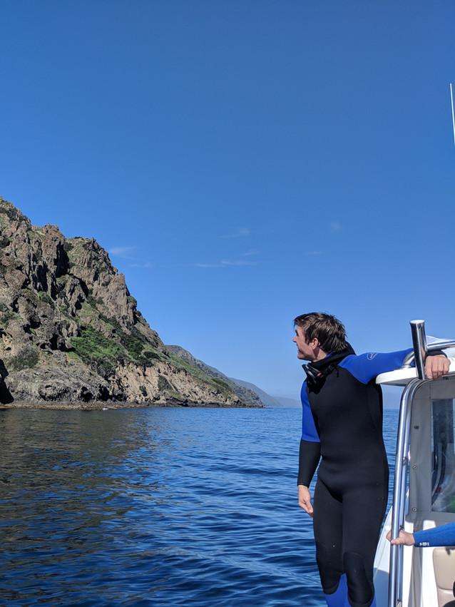 Jacob at San Clemete Island