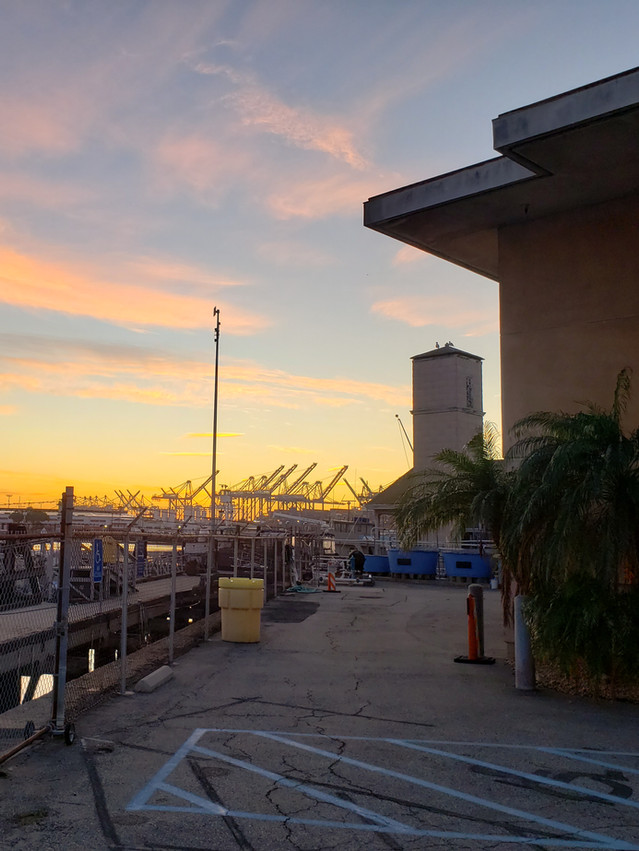 Sunrise at SCMI