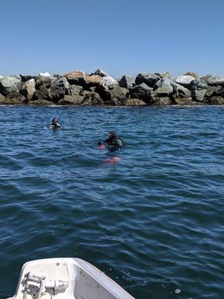 LA Harbor Breakwater
