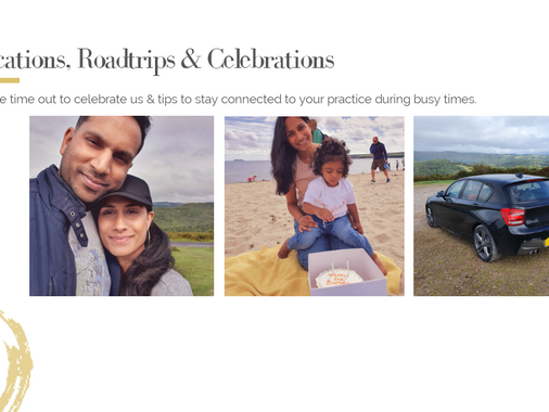 Staycations, Roadtrips & Celebrations