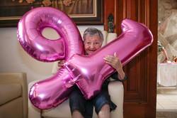 91 anos
