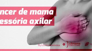 Câncer de mama acessória axilar: relato de caso.