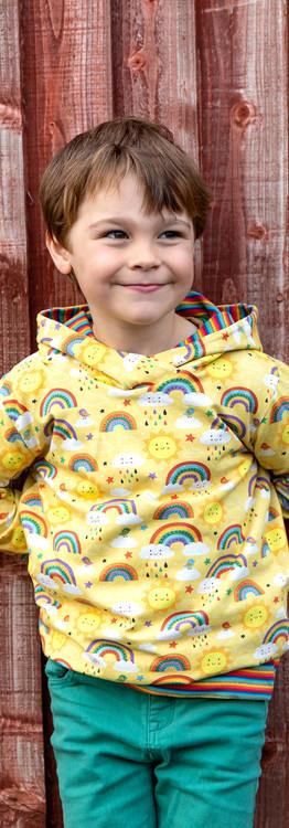 Yellow Rainbows Summer Hoodie