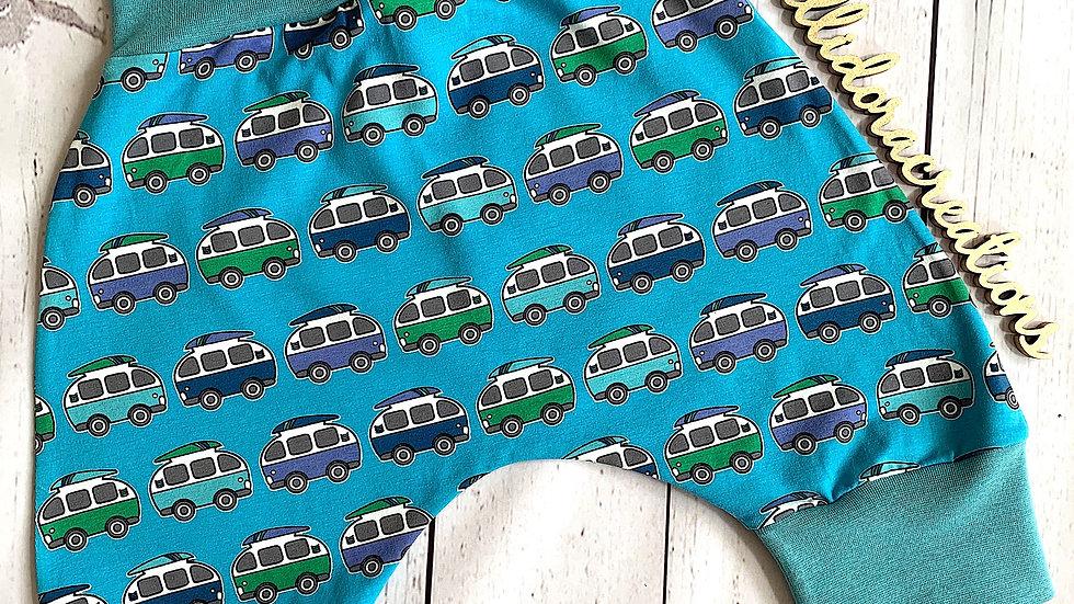 Blue Camper Vans Harems