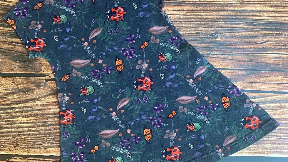 Beautiful Bugs T-Shirt Dress