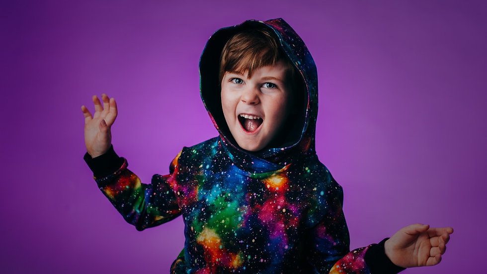 Rainbow Galaxy Hoodie