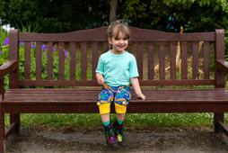 Rainbow Orbit harem shorts