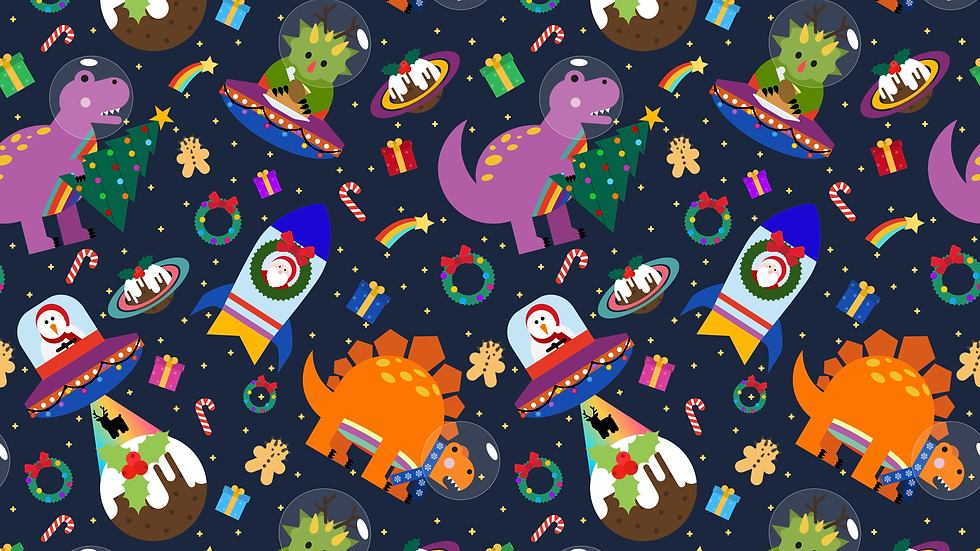 Christmas Bonkers Space Dinos Harems