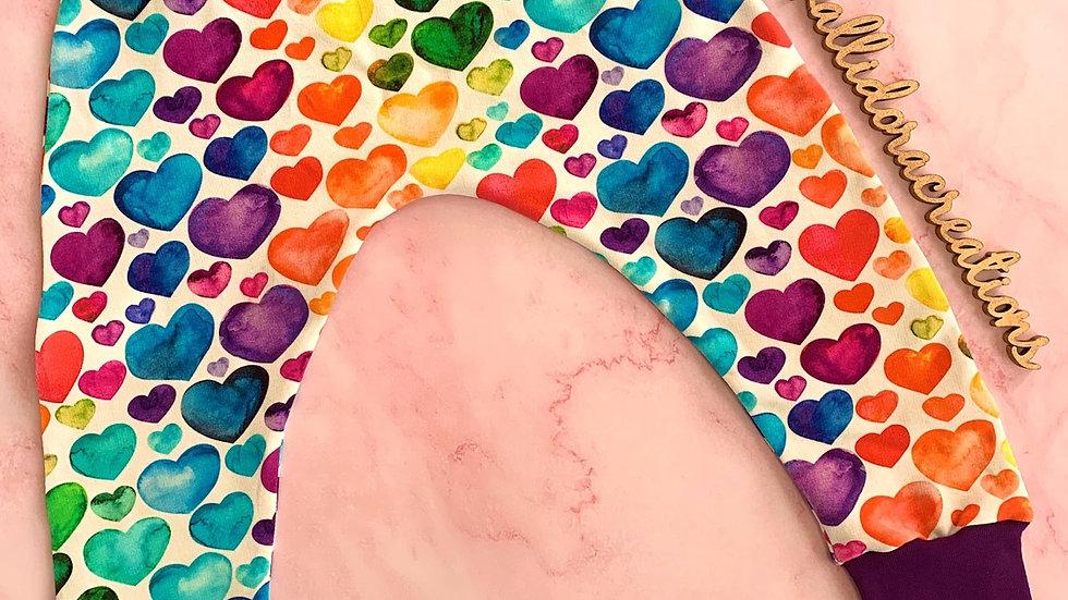 Rainbow Hearts Harems