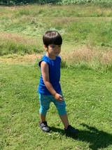 Blue campers Harem shorts