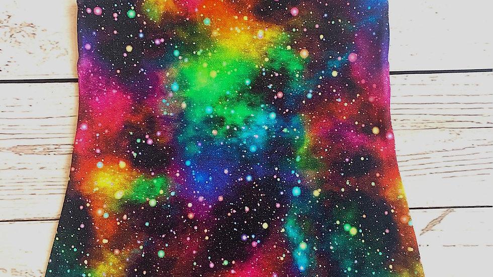 Rainbow Galaxy Dungarees