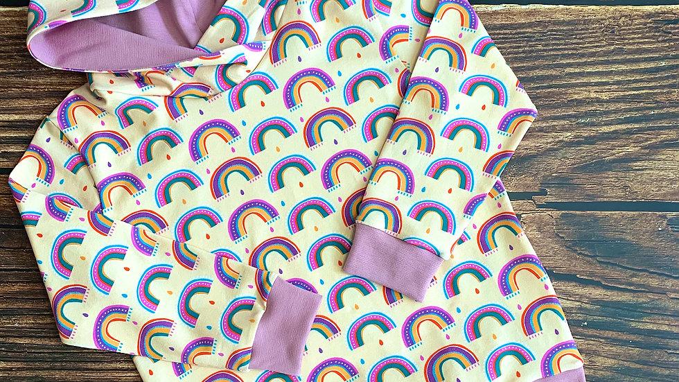 """Wonky Rainbows """"Summer"""" Hoodie"""