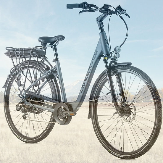 "El-cykel City-Bike Leader Fox INDUKTORA 28"" 2020 Dame Fås i 3 farver"
