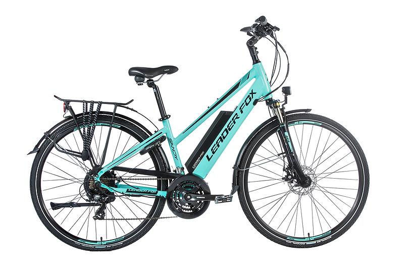 "El-cykel Trekking-bike Leader Fox SANDY 28"". 2019 Dame. Fås i 3 farver"