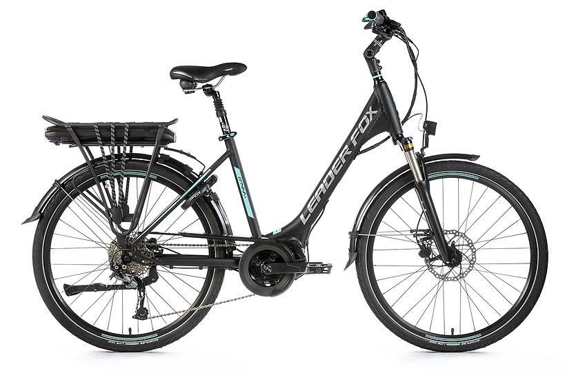 "El-Cykel City-Bike Leader Fox VIVALO 26 "",2019.Dame fås i to farver"