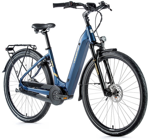 "El-Cykel City-Bike Leader Fox NEBA 28 "",2021.Dame fås i 3 farver"