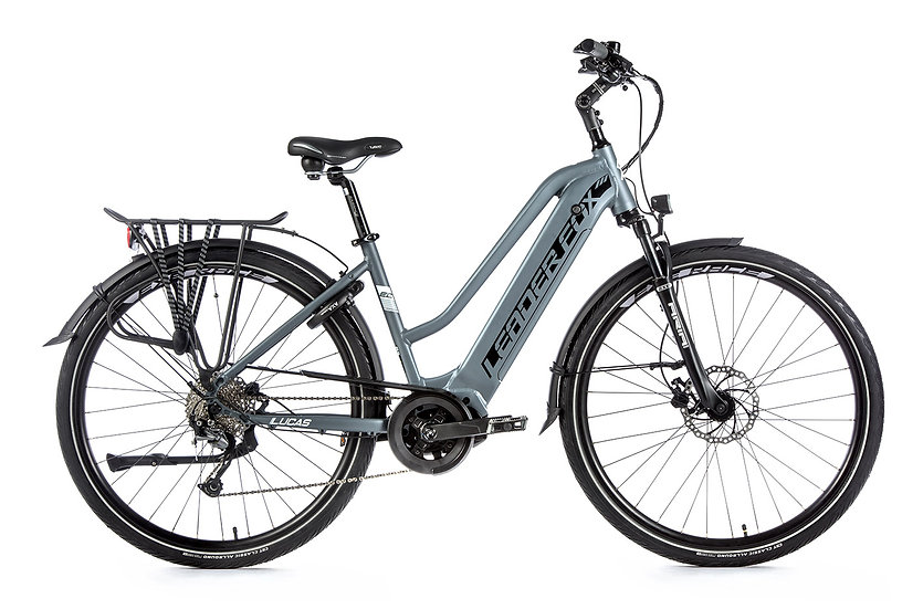 """EL-cykel Trekking Leader Fox LUCAS 28"""" 2020 Dame Fås i 2 farver"""