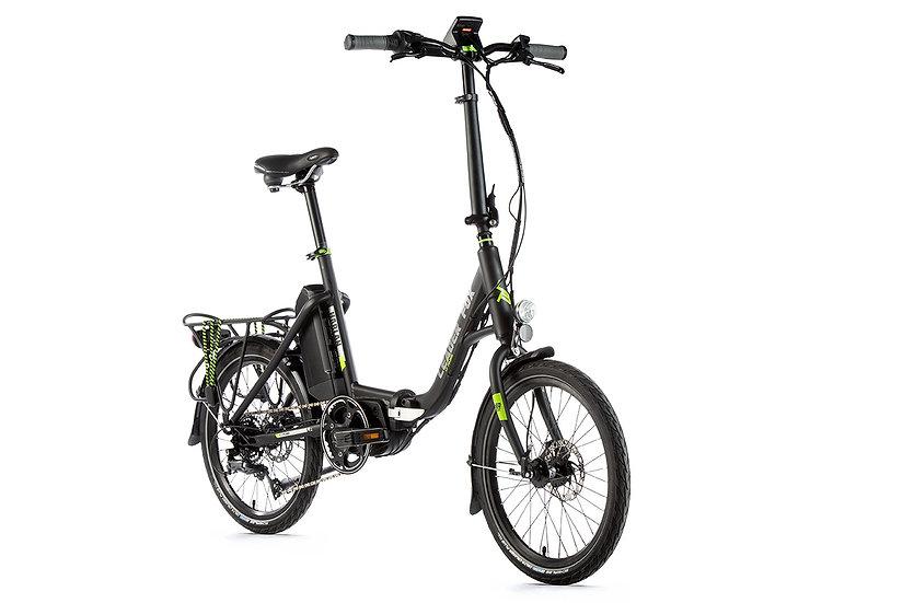 "El-Cykel Foldecykel Leader Fox HARLAN 20"" 2019. Fås i 2 Farver"