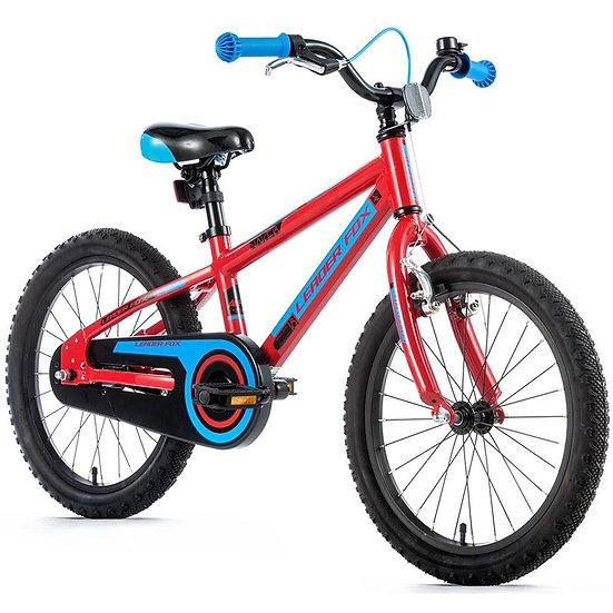 "Børnecykel Leader Fox SANTO 18"" Fås i rød farve"
