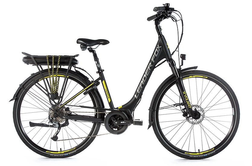 "El-cykel City-Bike Leader Fox SAGA CITY 28 ""Fås i to farver"
