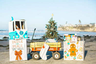 Paddle for Peace Toy Drive