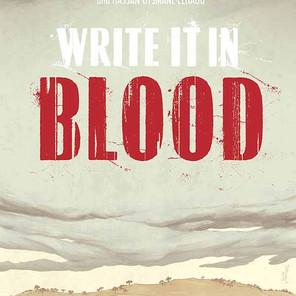 Image Comics unveils 'Write It In Blood' crime graphic novel