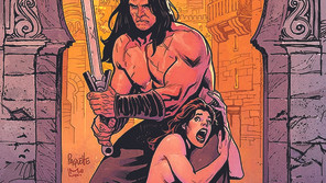 French cartoonist Gess sends The Cimmerian to Zamboula this summer