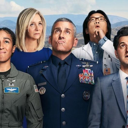 'Space Force' comedy from Netflix doesn't quite complete its mission