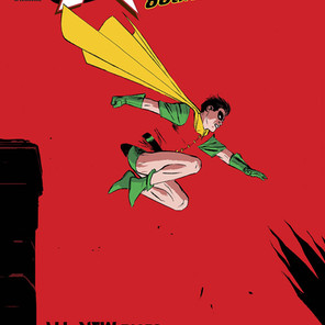 Robin, the Boy Wonder takes center stage in 100-page spectacular