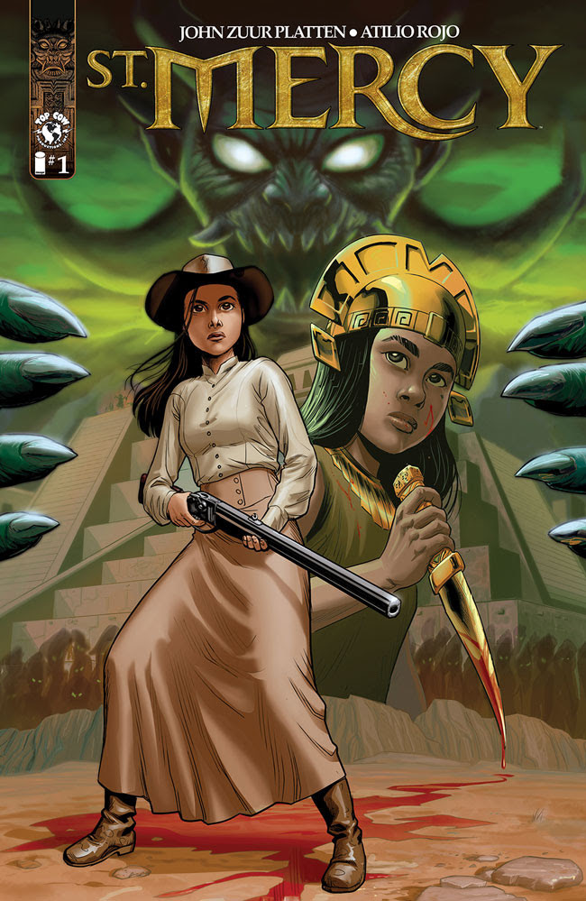 Cover from St. Mercy No. 1 from Top Cow Productions
