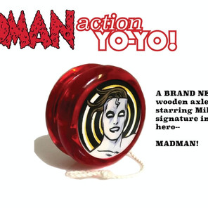 The new Madman fun pack is a yo-yo extravaganza