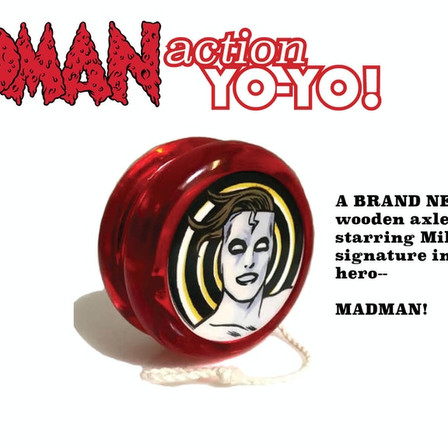 The new Madman fun pack is a yo-yo extravaganza