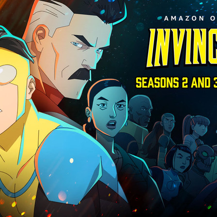 'Invincible' gets two-year renewal from Amazon Studios