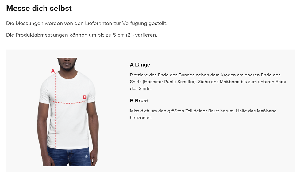 Messe dich selbst Shirts