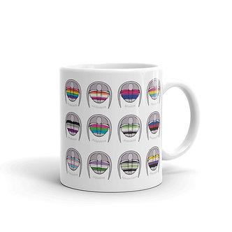 Queerlobites cheat sheet Mug