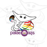 Progress Pride Flag Diplocaulus