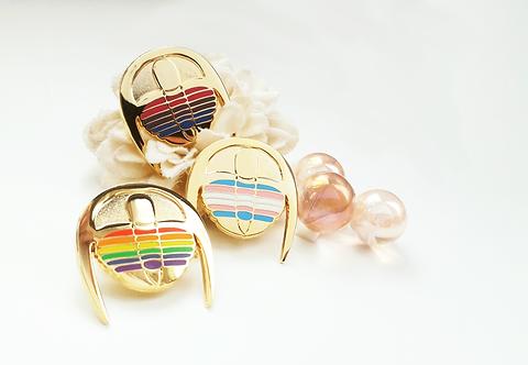 Queerlobites - enamel pins