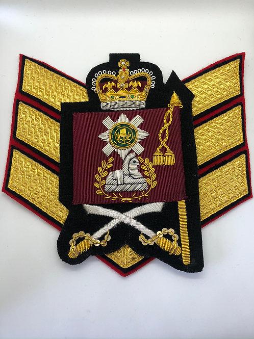Scots Guards Colour Sergeant Rank Insignia