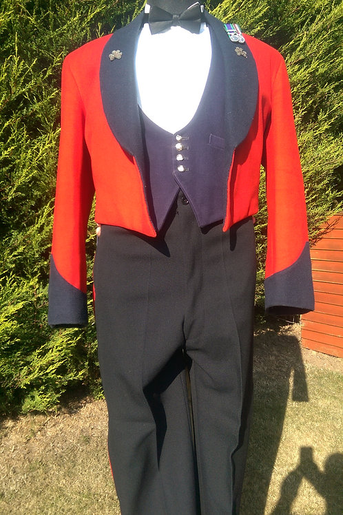 Irish Guards Mess Dress Complete