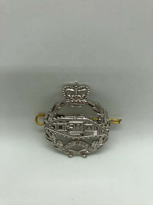 Royal Tank Regiment RTR Cap Badge