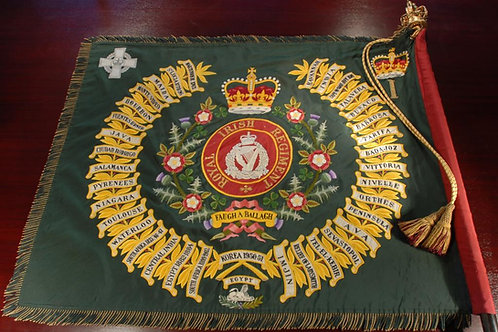 Royal Irish Regiment Regimental Colour Half Size