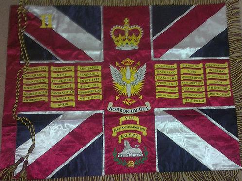2nd Battalion Scots Guards Regimental Colours