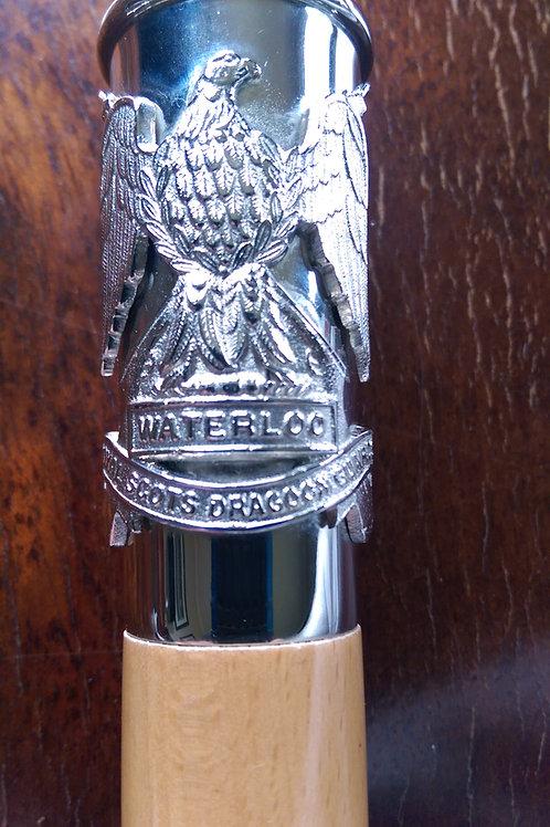 Royal Scots Dragoon Guards RSDG Regimental Cane