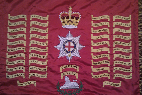 1st Battalion Coldstream Guards Queens Colours