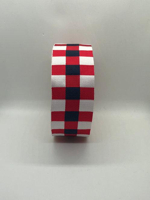 Officers Dress Cap Badge Ribbon