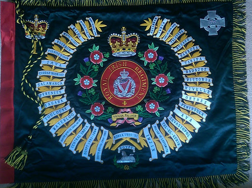 Royal Irish Regiment Regimental Colour Full Size