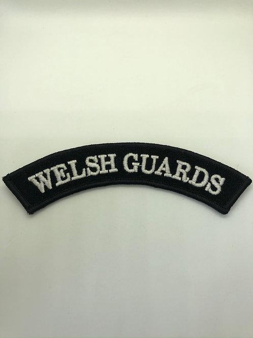 Welsh Guards Shoulder Title